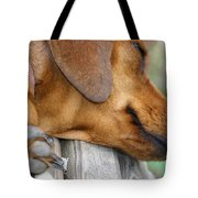 Sniffing Out Dreams Tote Bag