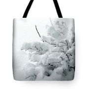 Snow Abstract 2 Tote Bag