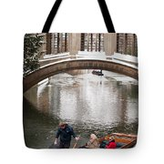 Snow Ball Fight Tote Bag
