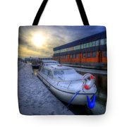 Snow Boat 1.0 Tote Bag