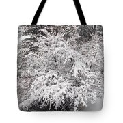 Snow Bush Tote Bag