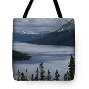 Snow-capped Moutains Rise Tote Bag