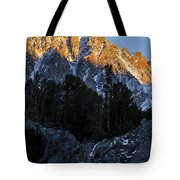 Snow Capped Ridge Tote Bag