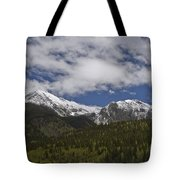 Snow Capped San Juans Tote Bag