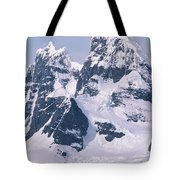 Snow-covered Mountains On Wienke Tote Bag