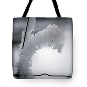 Snow Creature Tote Bag