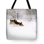Snow Day Play Tote Bag