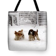 Snow Day Play II Tote Bag