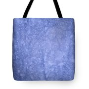 Snow Falling In The Forest Tote Bag
