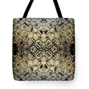 Snow Fence - Abstract Tote Bag