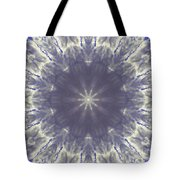 Snow Flake Crystal Tote Bag
