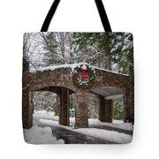 Snow Gate  Tote Bag