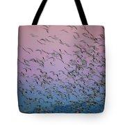 Snow Geese Painting Tote Bag
