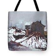 Snow In Elbasan Tote Bag