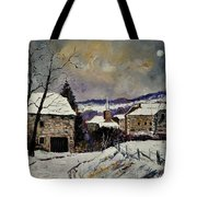 Snow In Gendron Tote Bag
