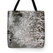Snow Laden Branches II Tote Bag
