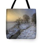 Snow Landscape Sunrise 2.0 Tote Bag