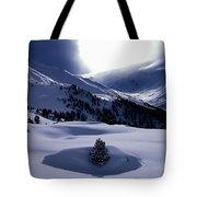 Snow Mountain Austria  Tote Bag