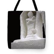 Snow Mummy Tote Bag