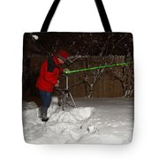 Snow Researcher Tote Bag