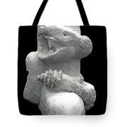 Snow Serpent Nagini Tote Bag