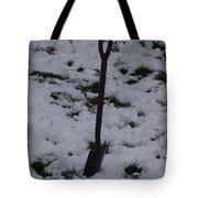 Snow  Spade Tote Bag