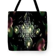 Snowflake Bubble Glass Tote Bag