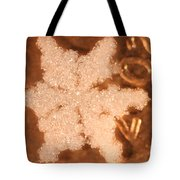 Snowflake On Coin Tote Bag