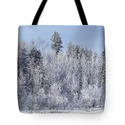 Snows Hit Again In Early Spring Tote Bag