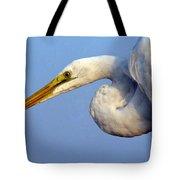 Snowy Egret Ready Tote Bag