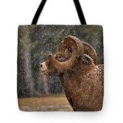 Snowy Ram Tote Bag