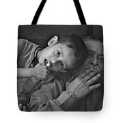 So Happy With Grandfather Tote Bag