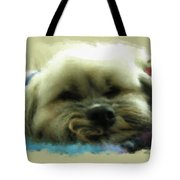 So Tired Tote Bag