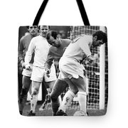 Soccer Match, C1970 Tote Bag