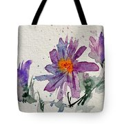 Soft Asters Tote Bag