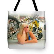 Soft N Sweet Harley Chopper  Tote Bag