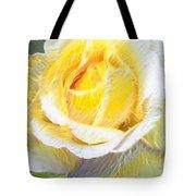 Softly Blooming Rose Tote Bag