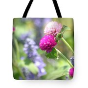 Softness In The Garden Tote Bag