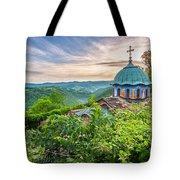 Sokolski Monastery Tote Bag