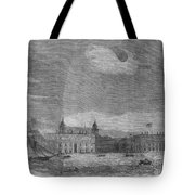 Solar Eclipse, 1858 Tote Bag