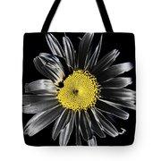 Solarized Daisy Tote Bag