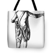 Soldier, 18th Century Tote Bag