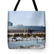 Soldier Field Chicago Tote Bag