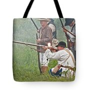 Soldier Fires Tote Bag