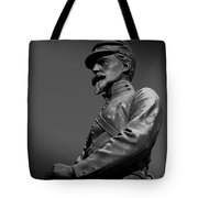 Soldier In Bronze  Tote Bag