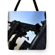 Soldier Mans The .50 Caliber Machine Tote Bag