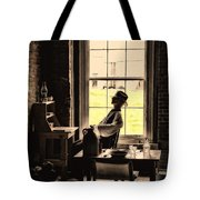 Soldier Of Old Times Tote Bag