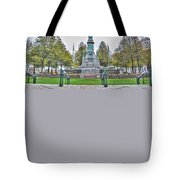 Soldiers And Sailors Monument In Lafayette Square Tote Bag