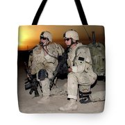 Soldiers Call In Air Support Tote Bag