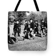Soldiers March Tote Bag